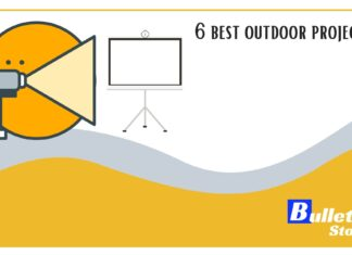 6 best outdoor projectors banner
