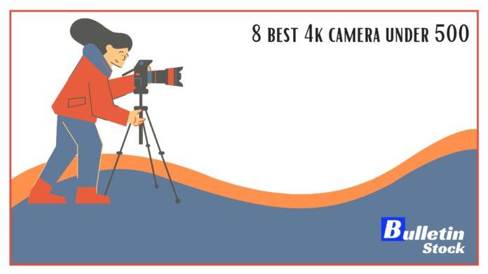 8 best 4k camera under 500