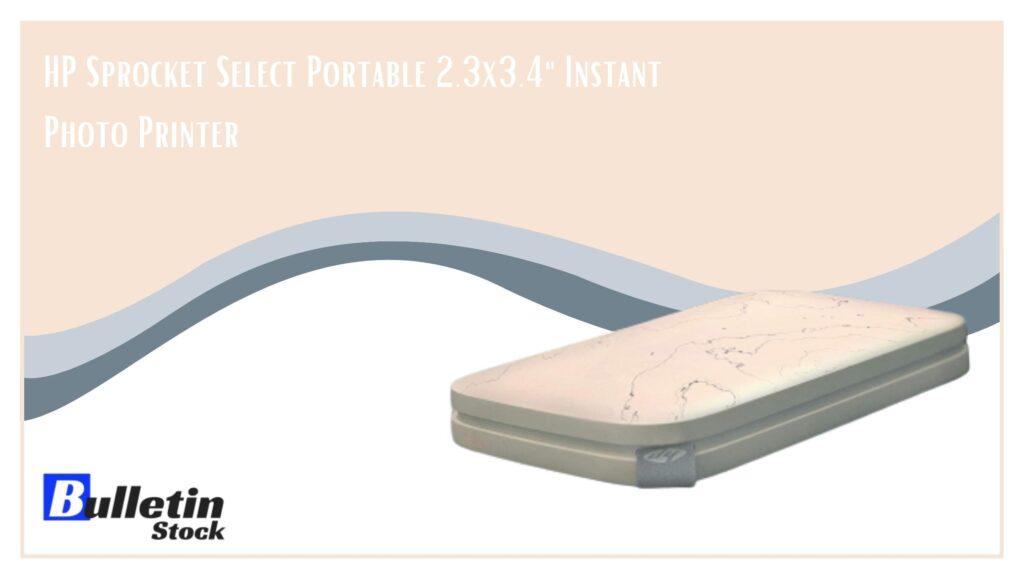HP Sprocket Select Portable 2.3x3.4