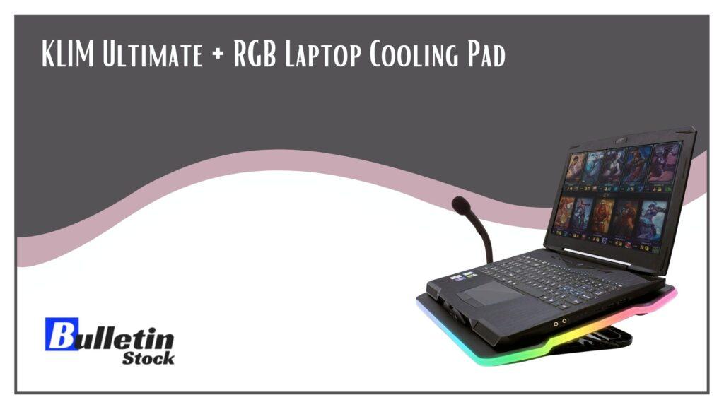 KLIM Ultimate + RGB Laptop Cooling Pad