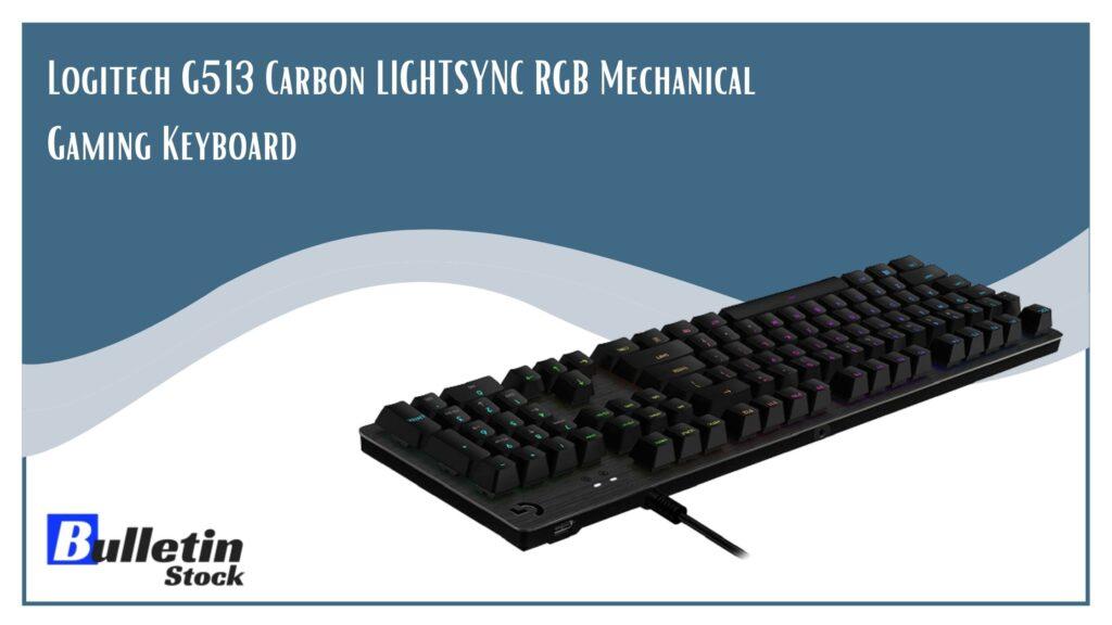 Logitech G513 Carbon LIGHTSYNC RGB