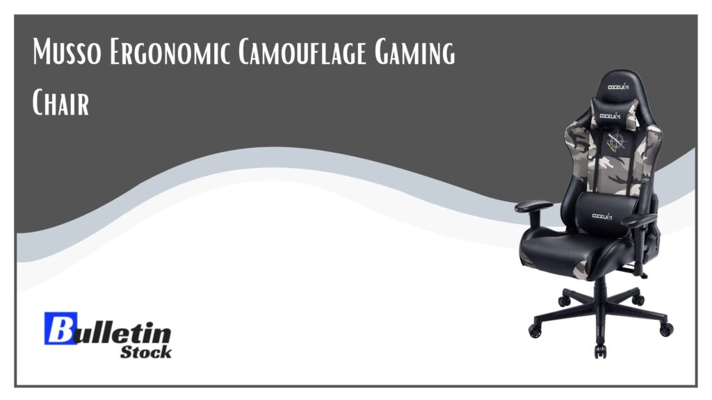 Musso Ergonomic Camouflage Gaming Chair