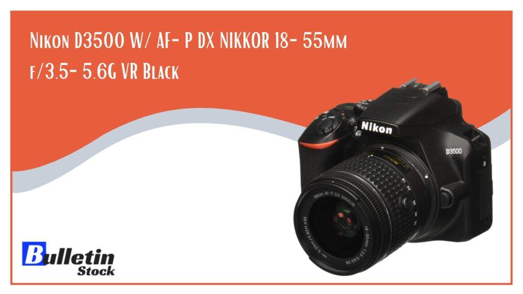 Nikon D3500 W AF-P DX NIKKOR