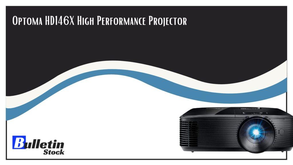 Optoma HD146X High-Performance Projector
