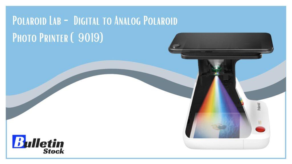 Polaroid Lab - Digital to Analog Polaroid Photo Printer