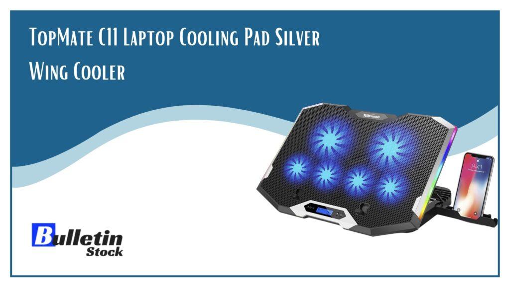 TopMate C11 Laptop Cooling Pad