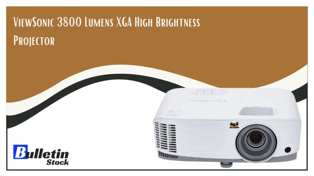 ViewSonic 3800 Lumens XGA High Brightness Projector