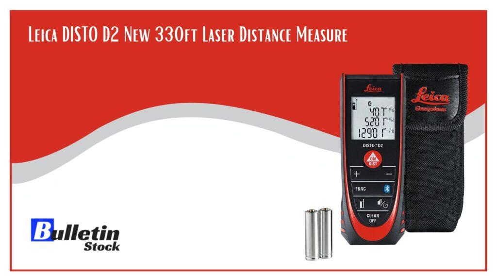 Leica DISTO D2 New 330ft Laser Distance Measure