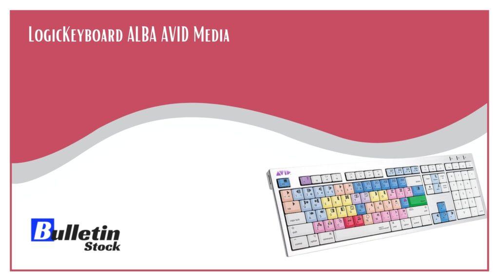 LogicKeyboard ALBA AVID Media