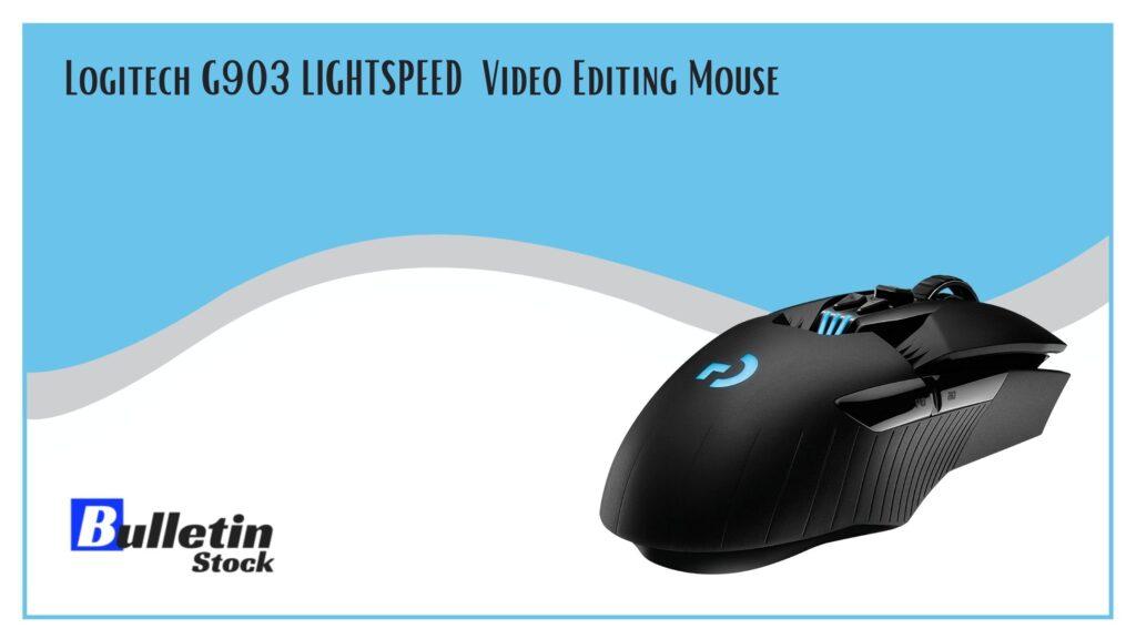 Logitech G903 LIGHTSPEED Video Editing Mouse