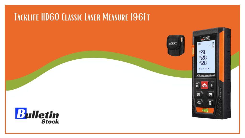 Tacklife HD60 Classic Laser Measure