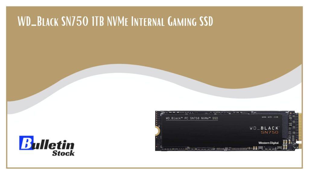 WD_Black SN750 1TB NVMe Internal Gaming SSD