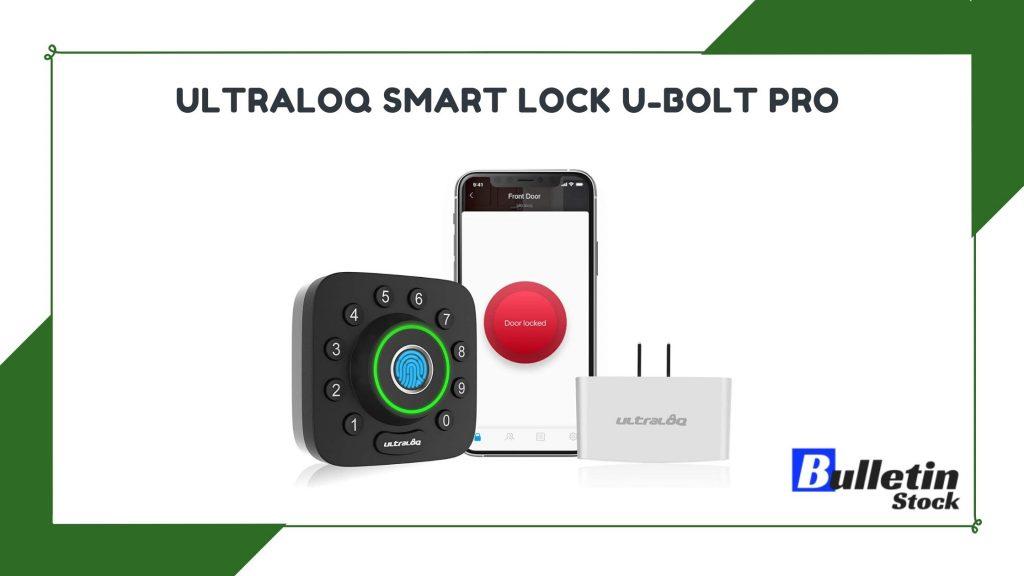 ULTRALOQ Smart Lock U-Bolt Pro