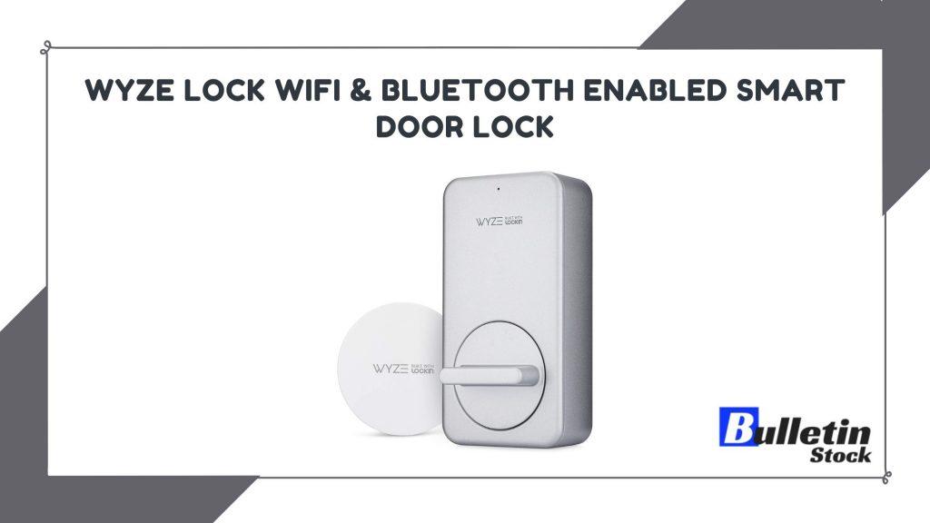 WYZE Lock WiFi & Bluetooth Enabled Smart Door Lock
