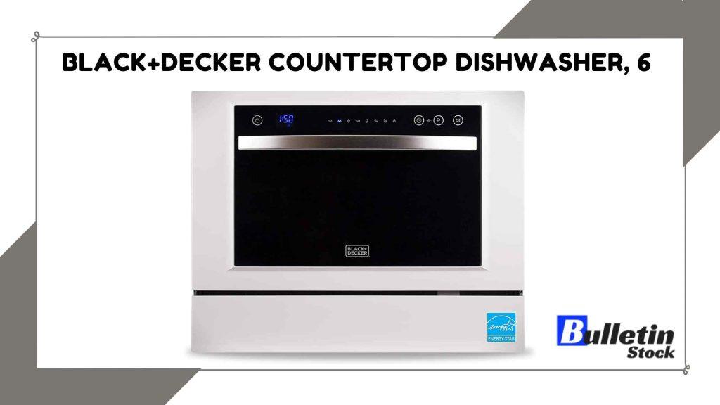 BLACK+DECKER Countertop Dishwasher