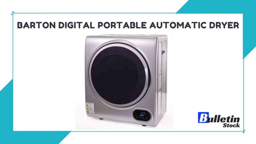 Barton Digital Portable Automatic Dryer