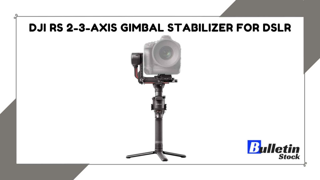 DJI RS 2-3-Axis Gimbal Stabilizer for DSLR