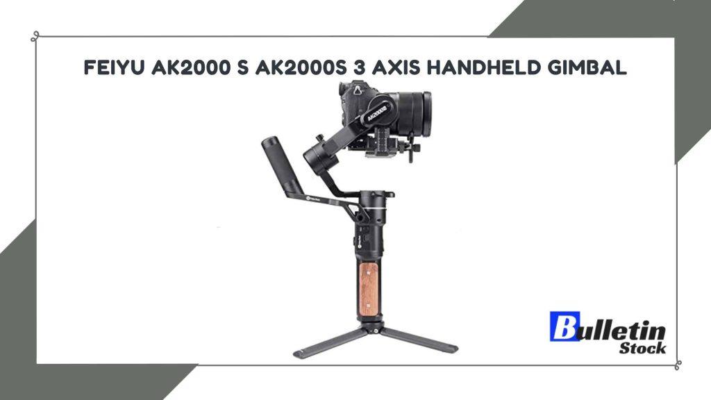 Feiyu AK2000 S Ak2000S 3 Axis Handheld Gimbal