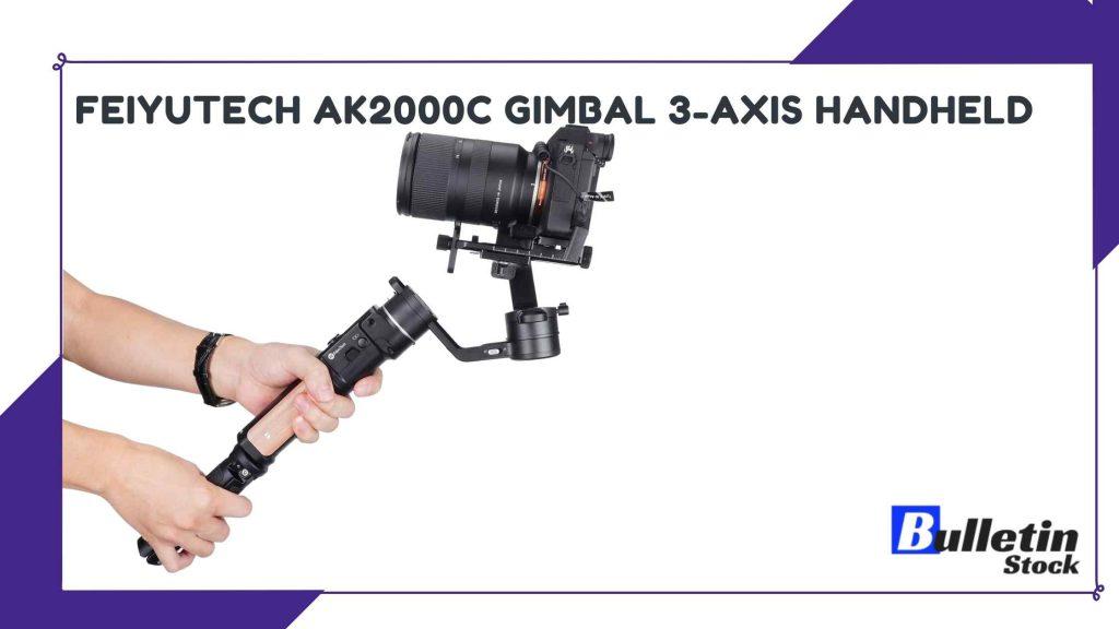 Feiyu AK2000 S Ak2000S 3 Axis Handheld Gimbal Stabilizer