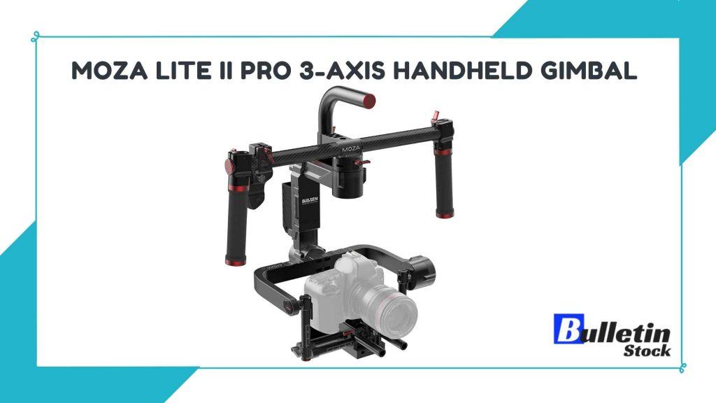 MOZA Lite II Pro 3-Axis Handheld Gimbal