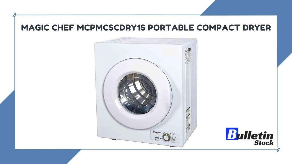 Magic Chef MCPMCSCDRY1S Portable Compact Dryer