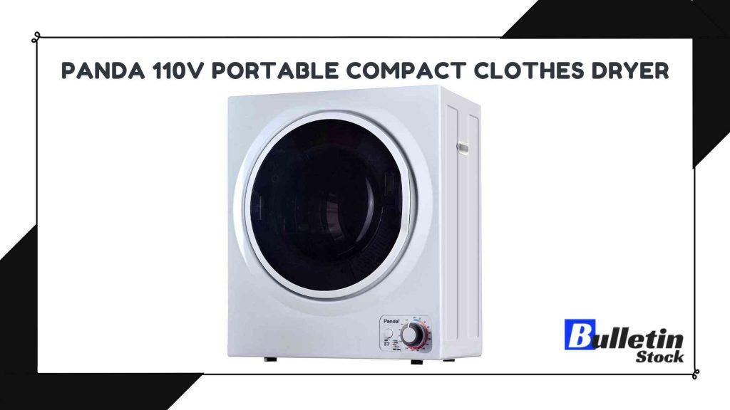 Panda 110V Portable Compact Clothes Dryer
