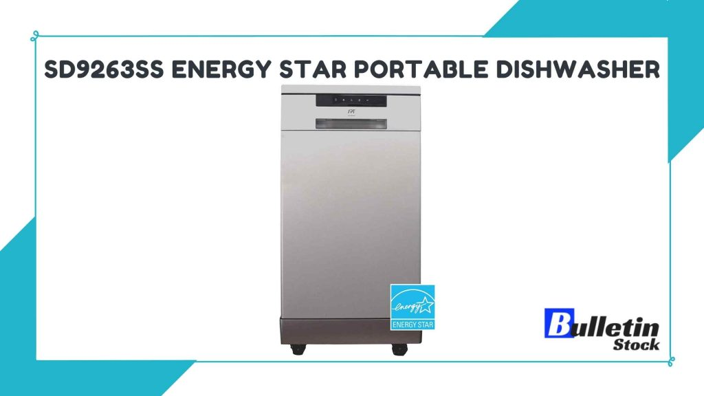 SD9263SS Energy Star Portable Dishwasher