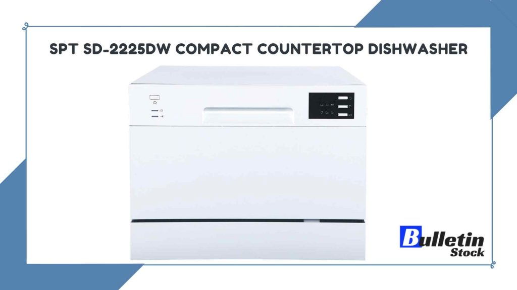 SPT SD-2225DW Compact Countertop Dishwasher