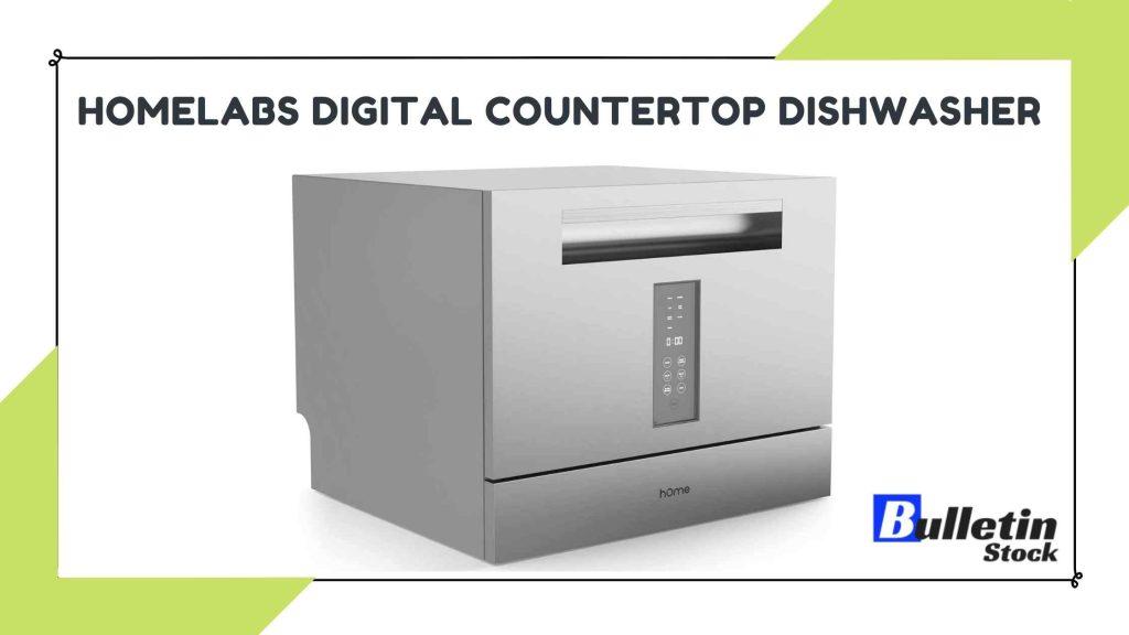 HomeLabs Digital Countertop Dishwasher