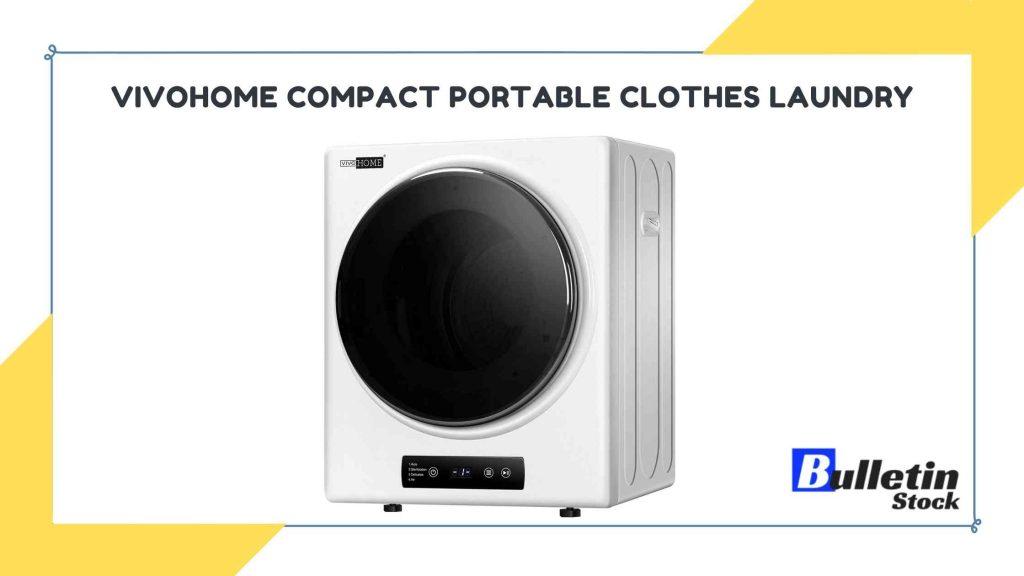 VIVOHOME Compact Portable Clothes Laundry